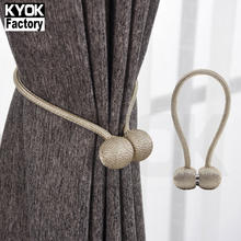 Kyok decoration curtain accessory home furniture curtain magnetic tieback tiebacks curtain