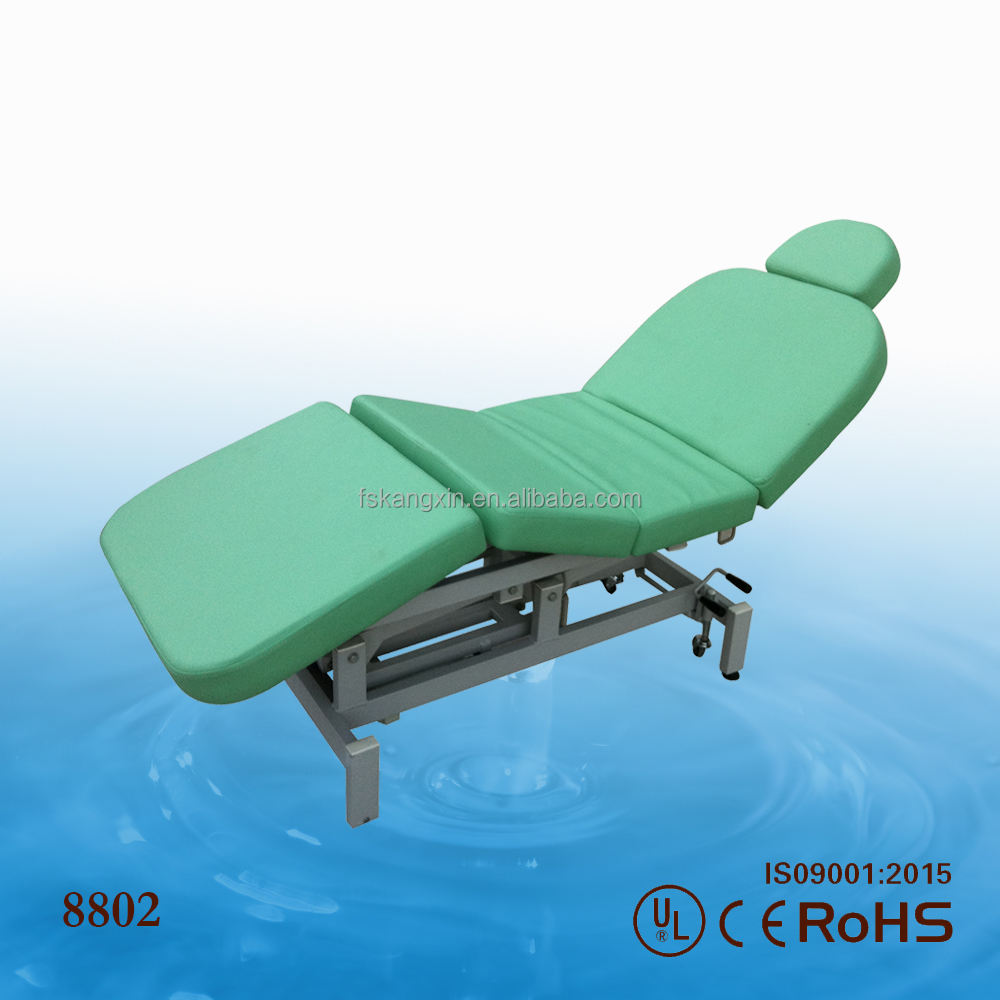 2017 hot sale portable hydraulic facial beauty bed/chair/table for salon KZM-8802