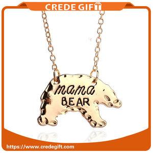 2017 vente chaude Maman ours mère ours collier beaux cadeaux collier pour maman avec bonne qualité