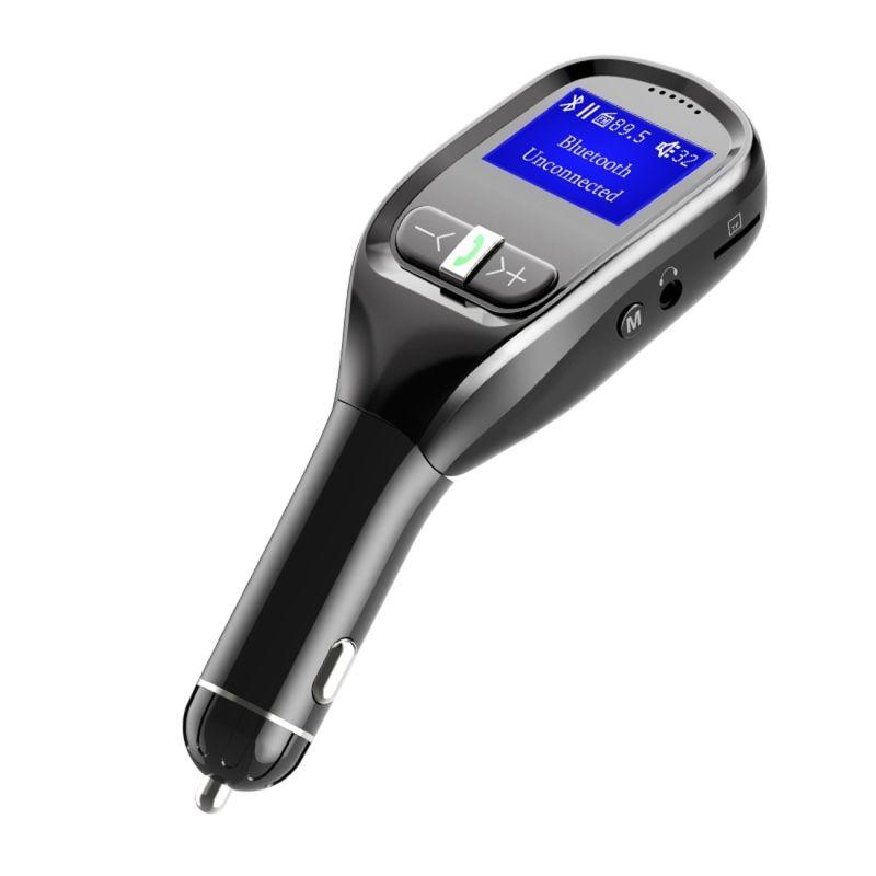 Smart USB Speakerphone Microphone Wireless Bluetooth Hands-Free Car Kit Full Duplex Sound Speakerphone with Visor Clip Bewinner Mini Bluetooth Speakerphone
