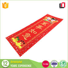 Handmade flannel cloth red Chinese new year couplets