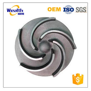 Good Price OEM Iron Casting Water Pump Impeller