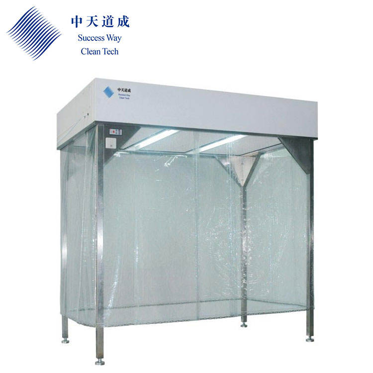 Laboratory Dedicated Class 100 Cleanroom Dust Free Portable Clean Room