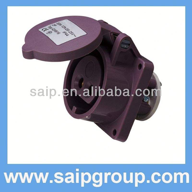 Basse tension Plug and socket japon Plug power socket bouchon de tube en acier au carbone prise soudure