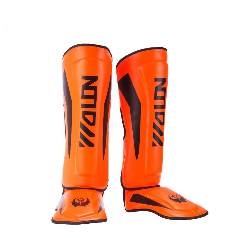 Wolon 2020 New Design Custom Muay Thai Kicking Boxing Shin Leg Pads Guards