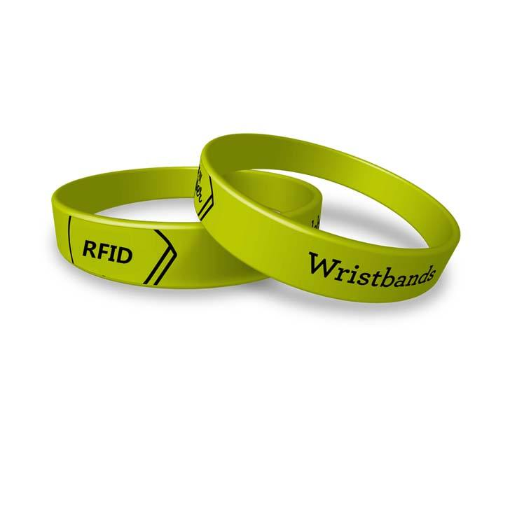 China OEM Kleurrijke <span class=keywords><strong>Passieve</strong></span> Rfid Nfc Wrist band Waterdichte 13.56 mhz Siliconen Rubber Polsband voor Toegangscontrole