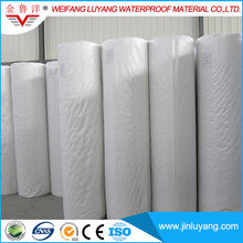 polyethylene polypropylene fiber composite waterproof membrane for basement