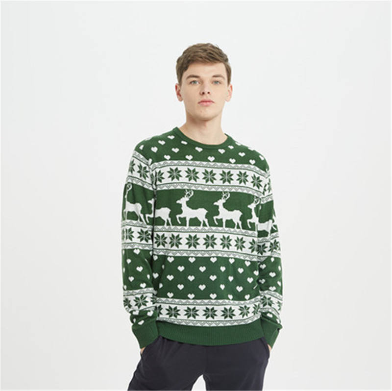 Baru Fashion <span class=keywords><strong>Sweater</strong></span> <span class=keywords><strong>Natal</strong></span> Dasar Unisex <span class=keywords><strong>Sweater</strong></span>