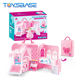 Doll House Toy - New Plastic Furniture Toy Deluxe Bedroom Set For Girl