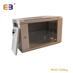19 inch server cabinet 6u Single Section wall mounted cabinets