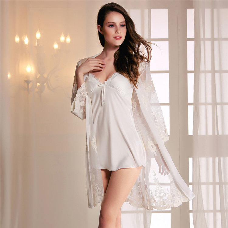 Robe Femme Sexy See Through Robe Night Nachtkleding Langery Sexy <span class=keywords><strong>Vrouwen</strong></span> Transparante <span class=keywords><strong>Vrouwen</strong></span> Pyjama