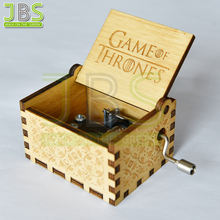Wooden Engraved Game of Thrones Music Box For Gift