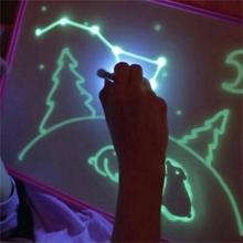 2019 HOT amazon product A3 A4 A5 magic freeze light fluorescent drawing board draw with light