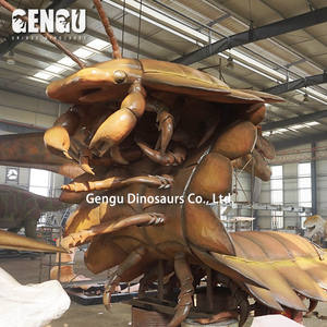 High Simulation 3D Insect Model Animatronic Centipede