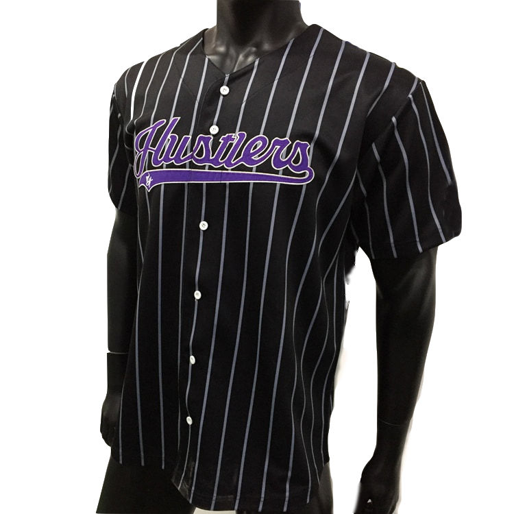 Top quality wholesale cotton authentic embroidered baseball jersey for men