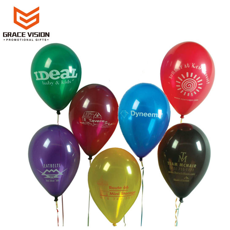 Customized Logo Print OEM Designed Halloween Helium Balloon Decoration,Air Balloon Party Promotional Balloons