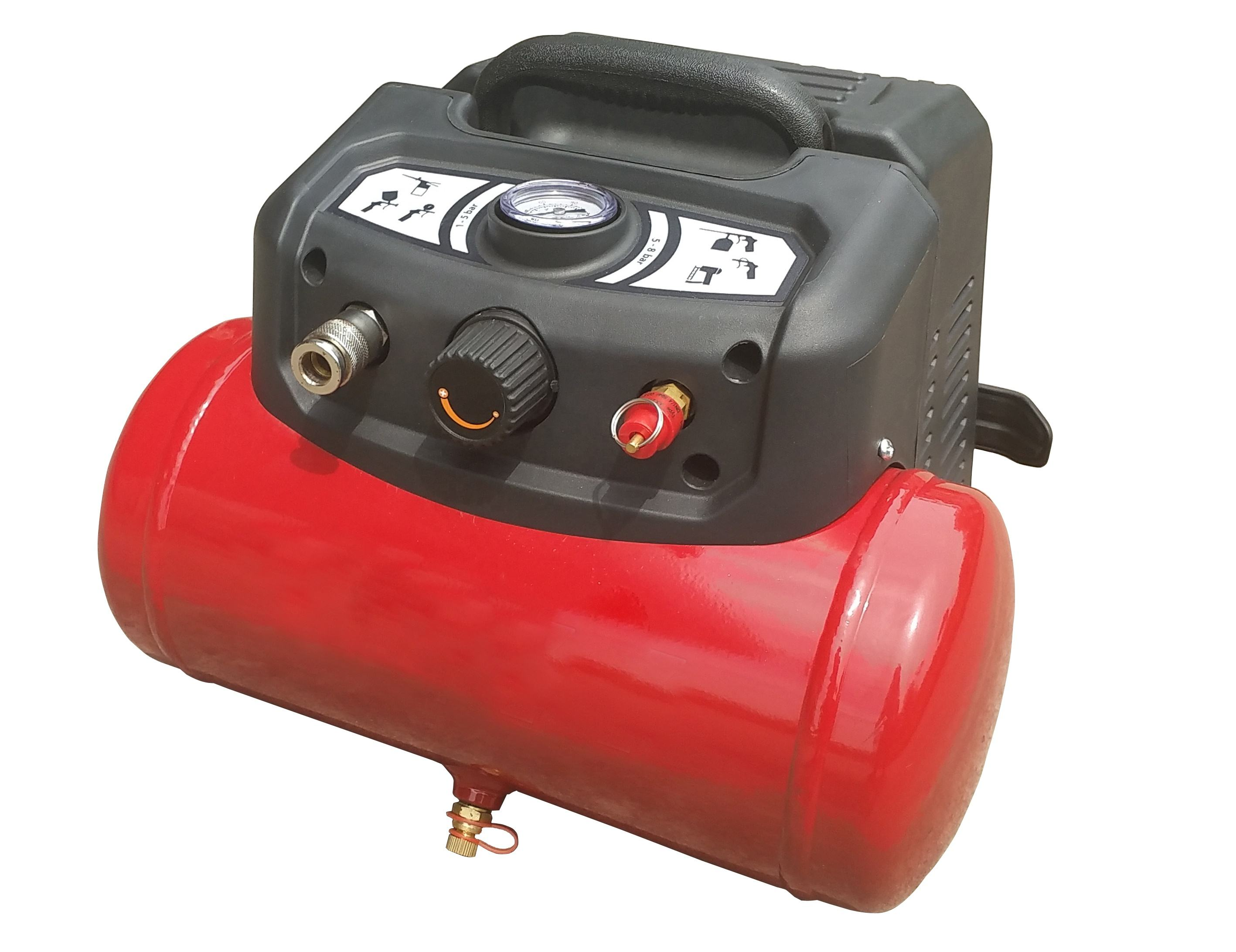 1200W Oil free 6L Air Compressor