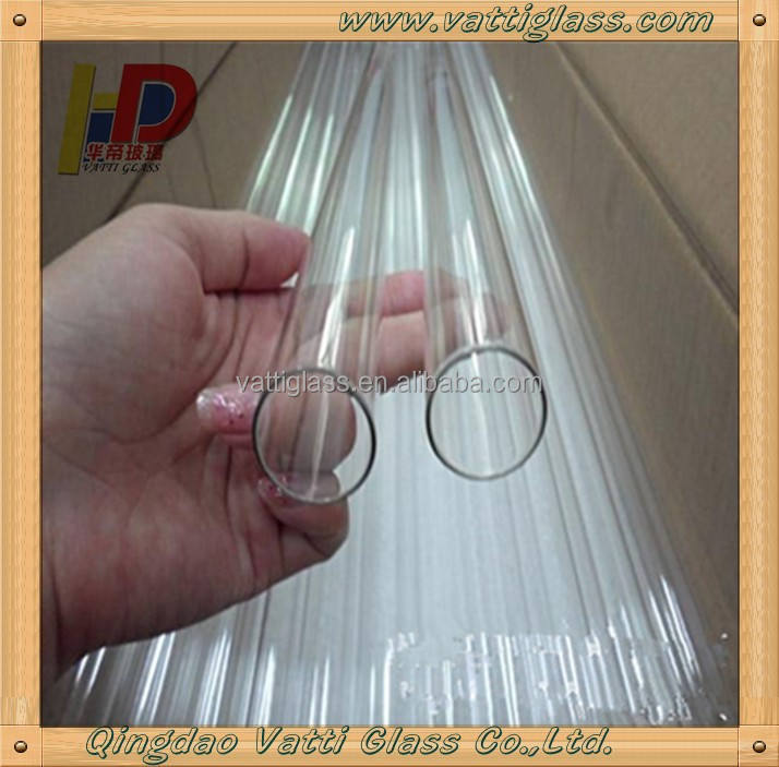 China Manufacturer Borosilicate Glass Cylinder for Candle, High Resistant Borosilicate Glass Cylinder Tube For Sale