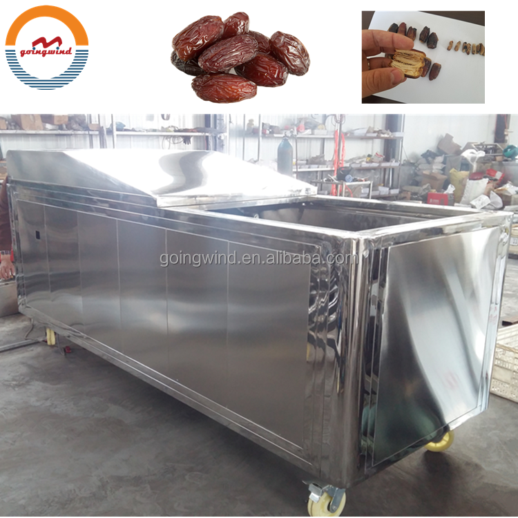 Automatic commercial medjool dates pitting machine industrial professional date seeds pitter equipment machines price for sale