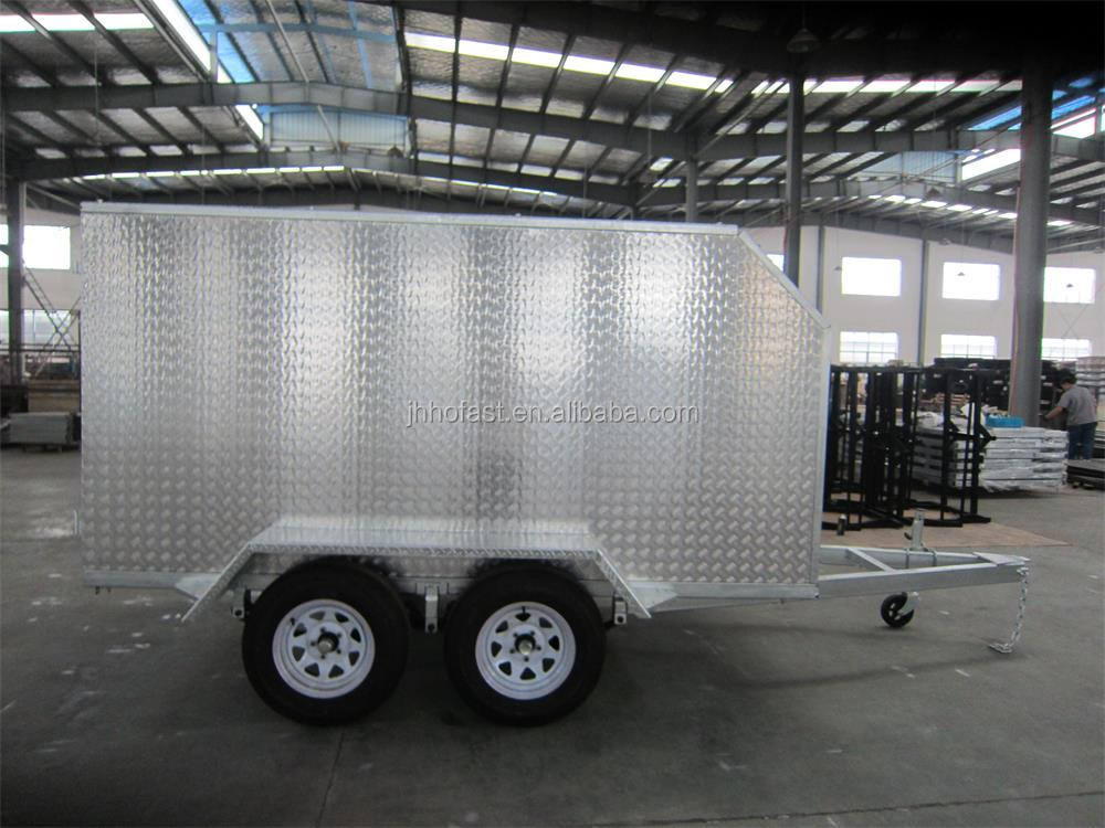 10x5 Tandem Enclosed Trailer