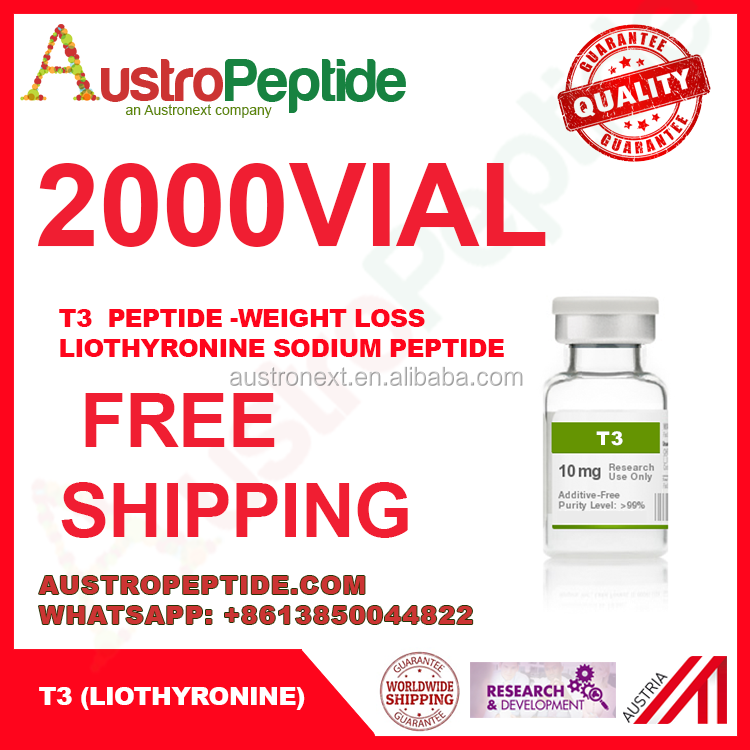 Liothyronine sodium 10mg / T3 50mg / free delivery wholesale T3