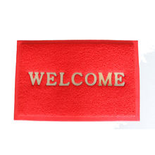 Home Decoration Pvc Spaghetti Door Mat With Welcome