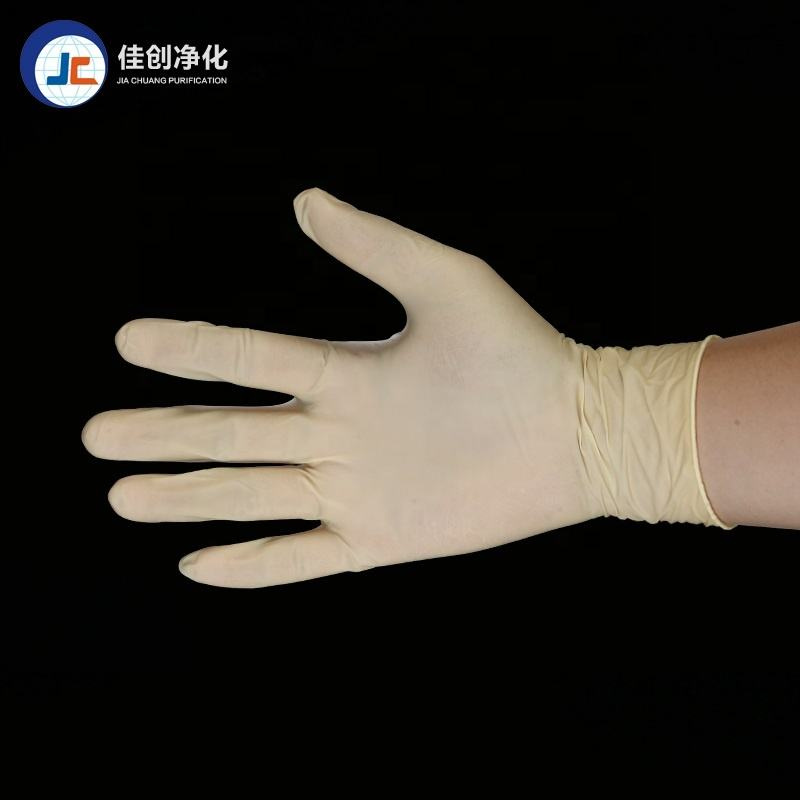 High Elasticity Anti-oil Industrial Disposable powder free latex gloves for examination