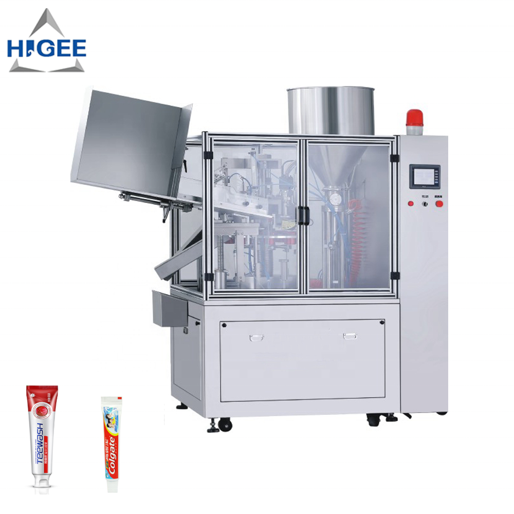 Toothpaste filling machine with tomato paste filling machine tomato paste filling and sealing packing machine