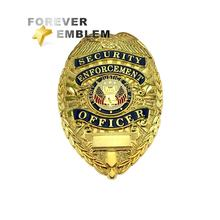 Custom Security Officer Metal Badge Maker