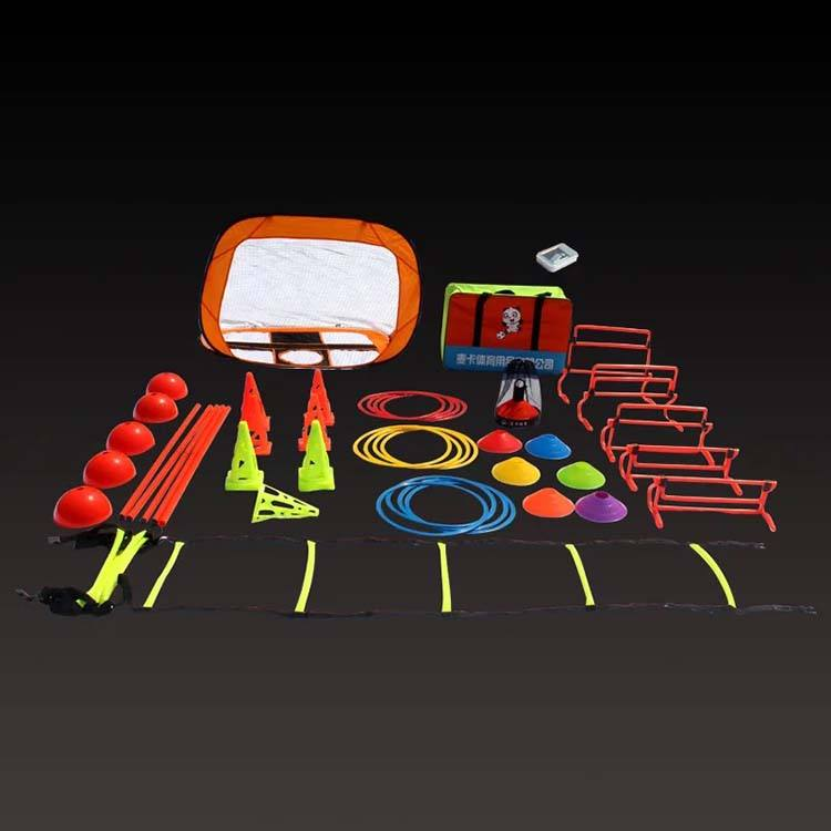 Football agility marker training equipment soccer training accessories sports training set soccer disc cones