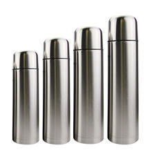 350/500/750/1000ml Double wall stainless steel 304/201 thermos vacuum flasks