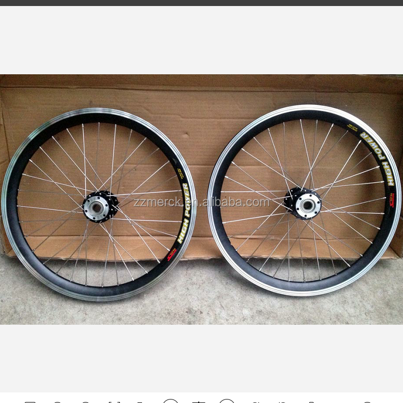 20 Inch Size and Alloy Wheels For Recumbent Bikes
