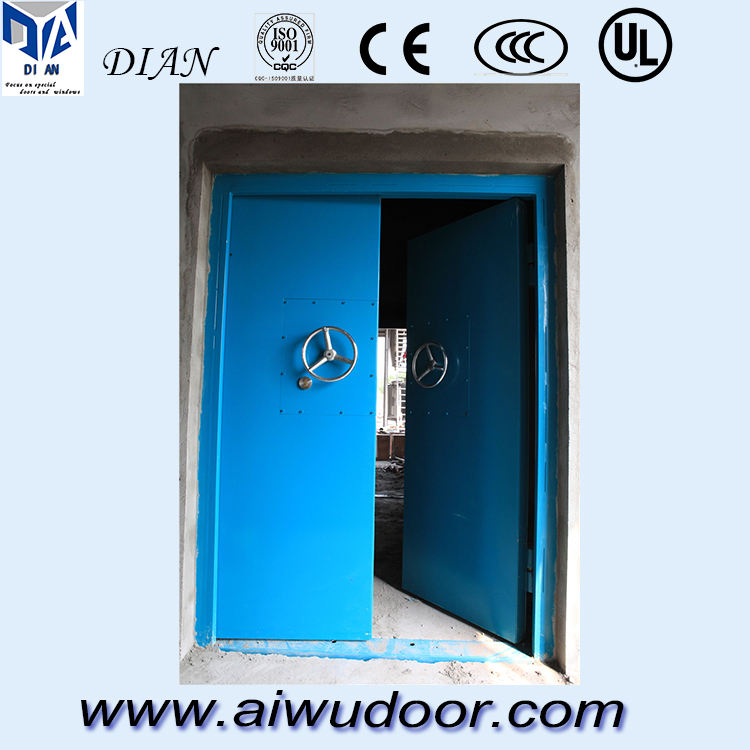 48 inches steel explosion relief door flat exterior door