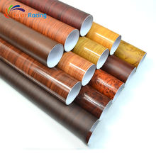 Wholesale Price PVC Self-adhesive Wood Grain Vinyl Wrap 1.52*20m