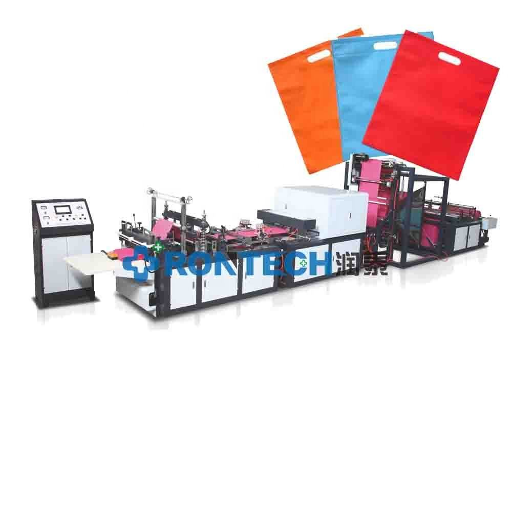 Fully Automatic Non Woven Shopping Bag Manufacturing Machine