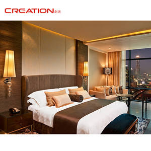 Hot sale high quality modern customized hotel apartment bedroom furniture