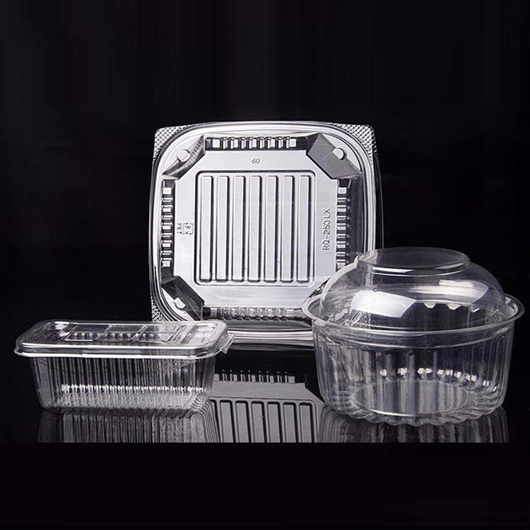 Food grade cupcake egg tart container plastic tray for cakes