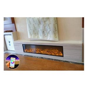 Buy Stainless Steel Fireplace Round Corner Lift In China On