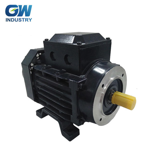 High efficiency small three phase electric motor 220 V 380 V
