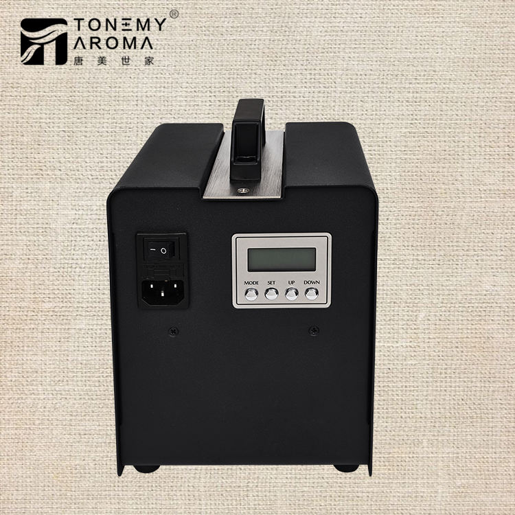 Tonemy Aroma Essential Oil Diffusers Large Area 8000CBM Industrial Scent Dispenser Guangzhou HVAC Aroma Dispenser