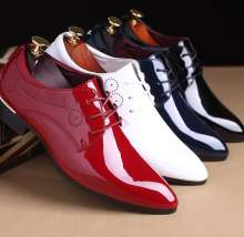 up-0453r Spring summer mens formal shoes fashion pu leather dress shoes