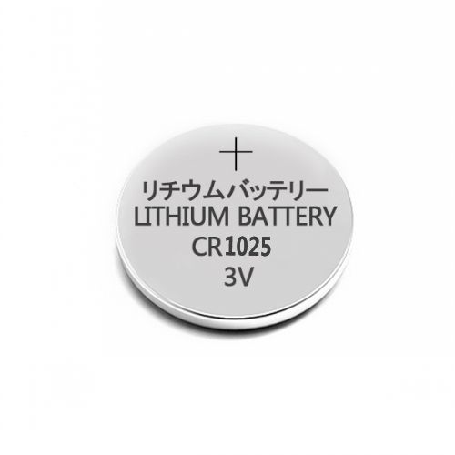 CR1025 3V Lithium Coin Cell Battery 30mAh
