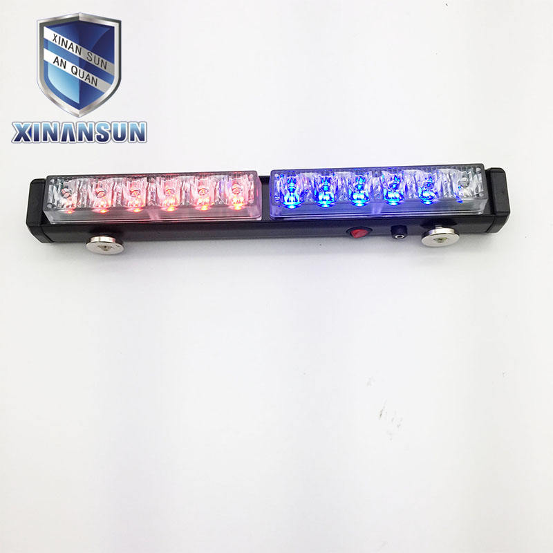 lithium battery LED warning emergency mini vehicle lightbar for security