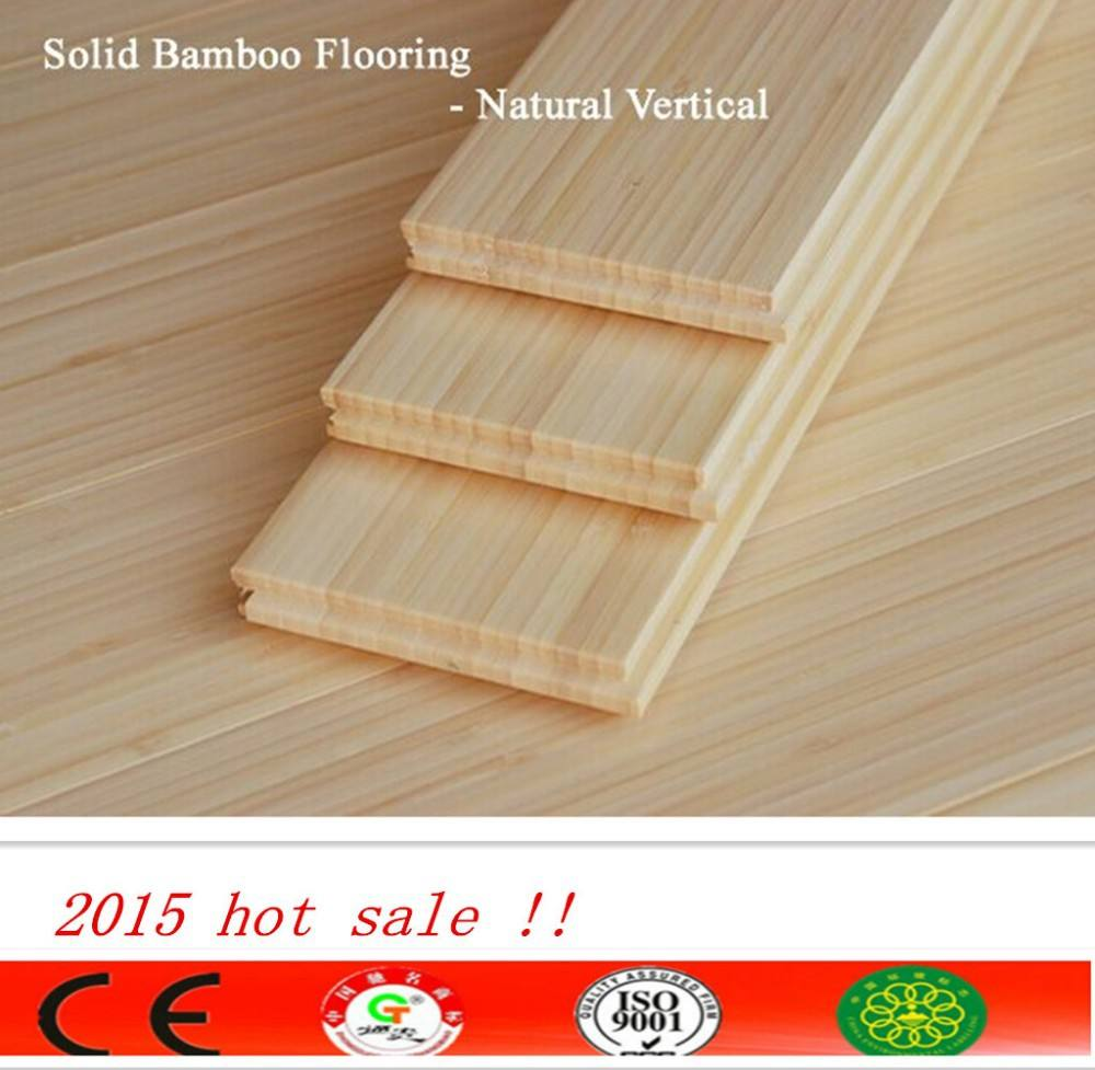 Moso bamboo Easy Click lock Natural vertical waterproof eco forest bamboo flooring solid