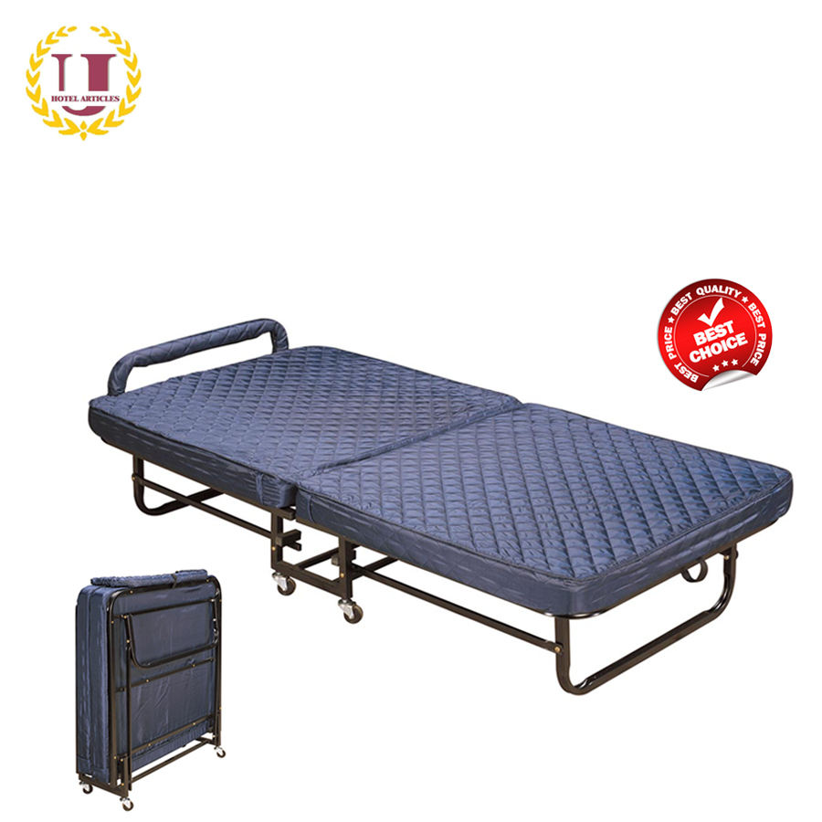 Hotel Rollaway Folding Bed with Spring Mattress