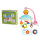 High quality baby musical hanging toys rotating bed bell with cute pendant HC346304