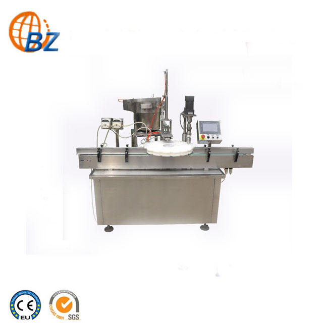 Shanghai Hot Sale Automatic Bottle Washing Filling Capping Machine/Eye Drops Filling Production Line