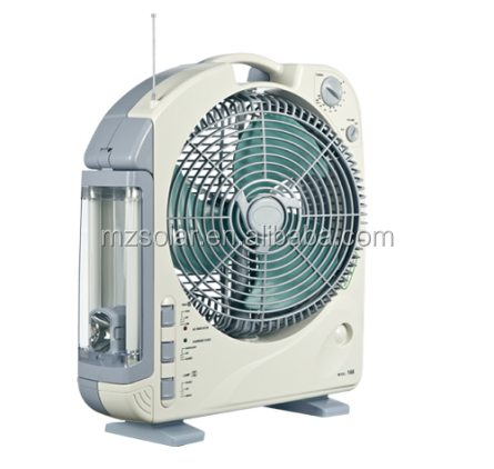 "Emergy salvar fan12 ""oscilante <span class=keywords><strong>ventilador</strong></span> solar con luz y radio AM/FM"