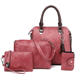 Freeshipping Satchel Purses and Handbags for Women Shoulder Tote Bags 4 set
