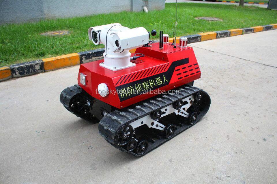 Пожаротушения разведывательный робот RXR-C7BD
